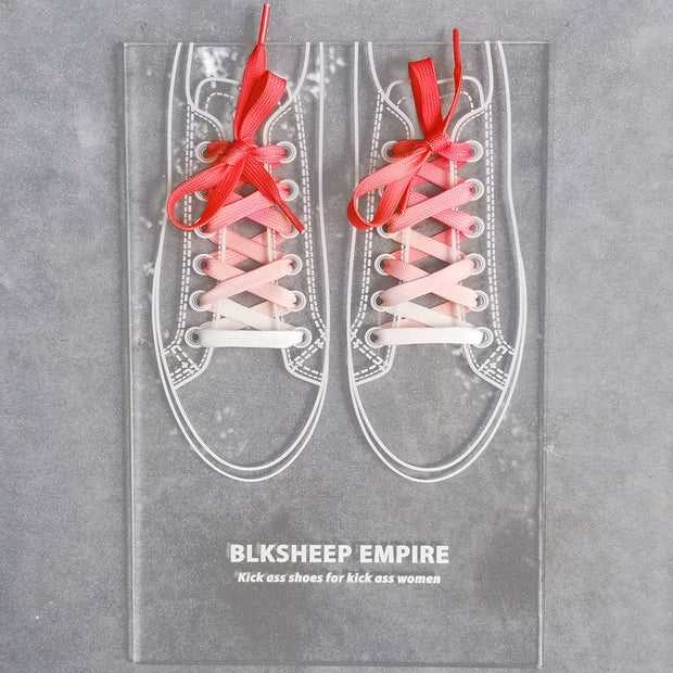 Coral Red Ombre - BLKSHEEP EMPIRE