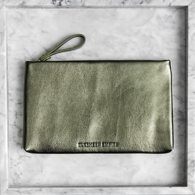 Large Olive Pouch - BLKSHEEP EMPIRE