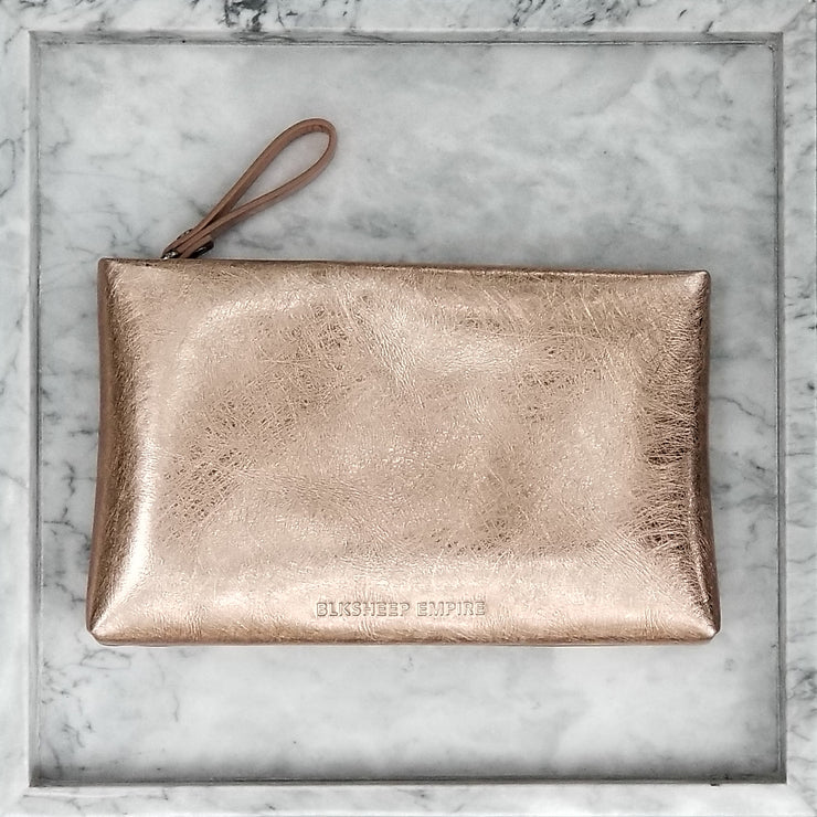 Large Rose Gold Pouch - BLKSHEEP EMPIRE