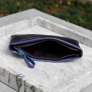 Small Blue Iris Pouch - BLKSHEEP EMPIRE