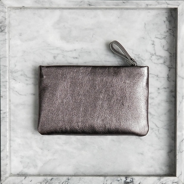 Small Pebble Grey Pouch - BLKSHEEP EMPIRE