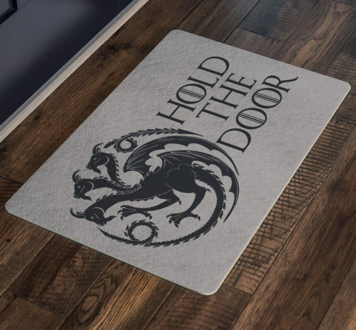 Funny doormat - Hold the door goats doormat - door mat