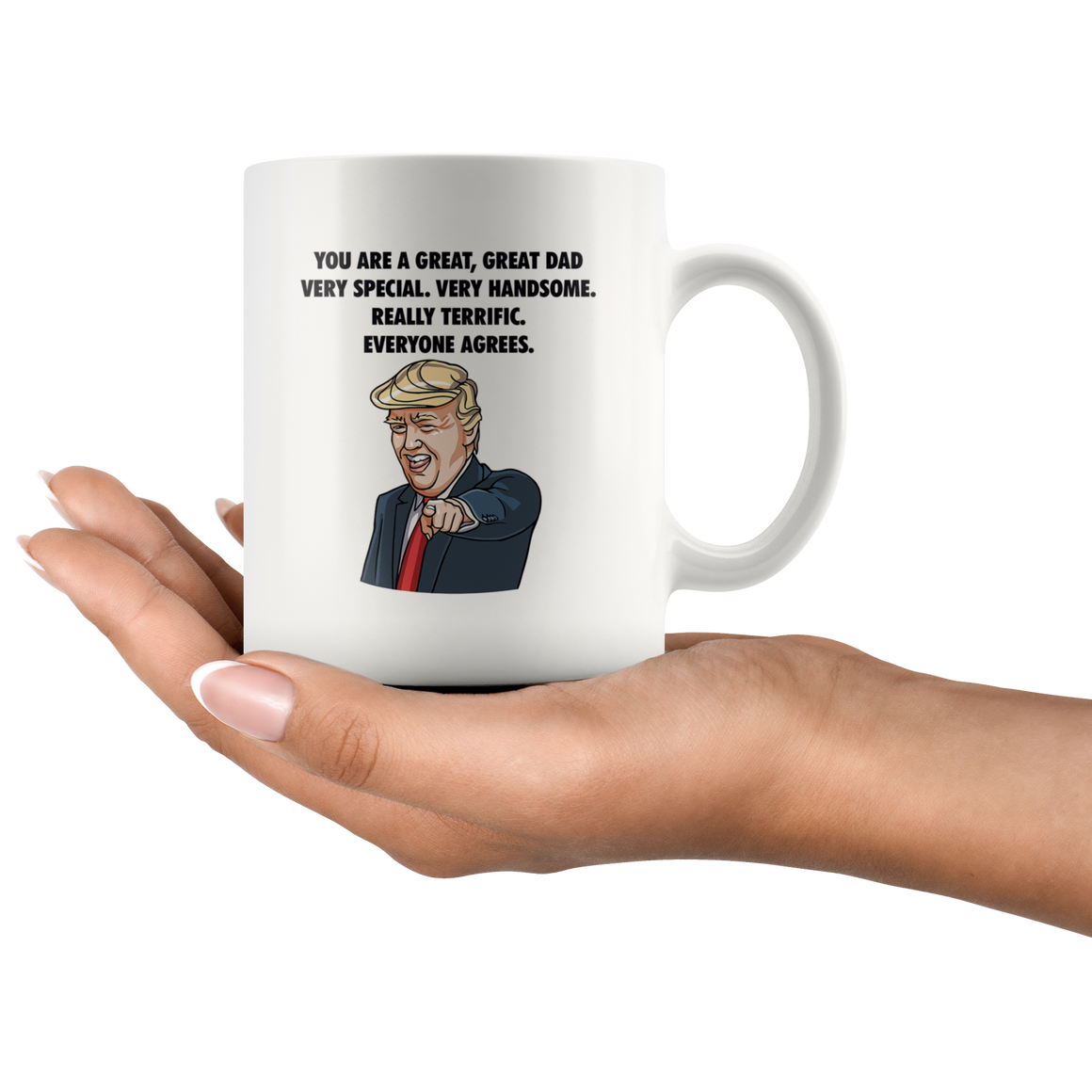 You're a great great dad mug