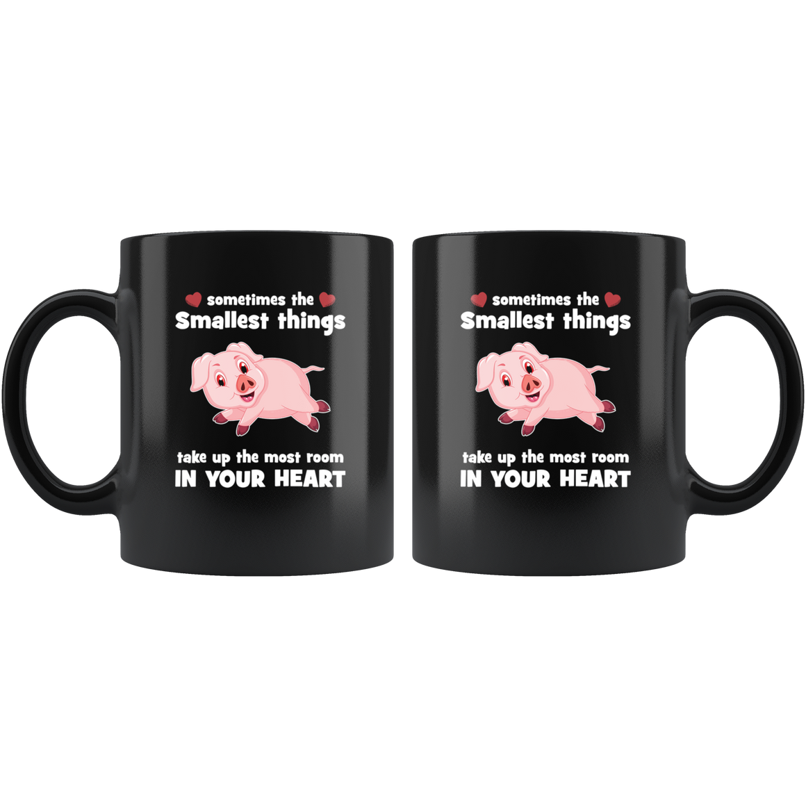 Take up the most room pig mug