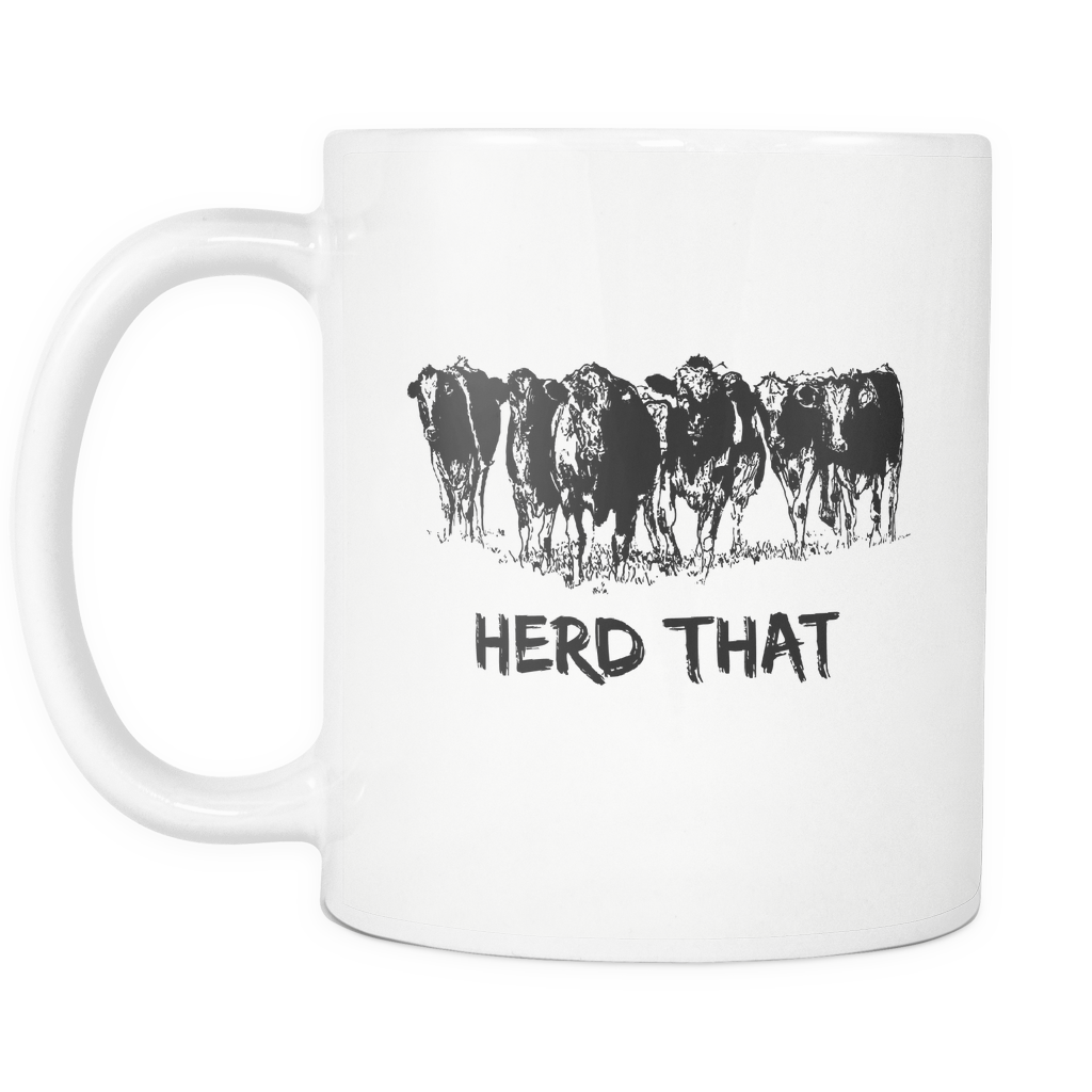 Herd That - Cow Coffee Mug