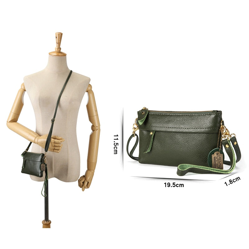 on wholesale high quality materials On Clearance Leather Small Envelope Crossbody Clutch Bag