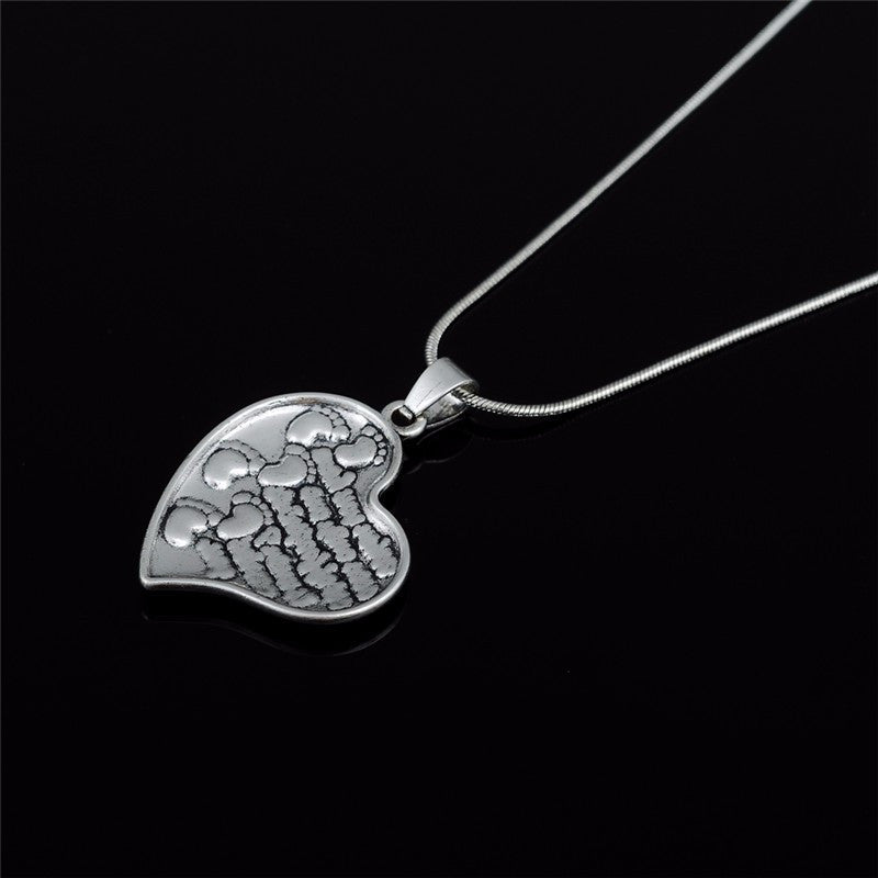 Footprints in the Sand Bible Verse Necklace - Pluto99
