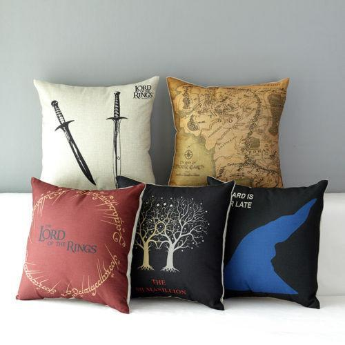 The Lord Of The Rings Linen Pillow Case Pluto99