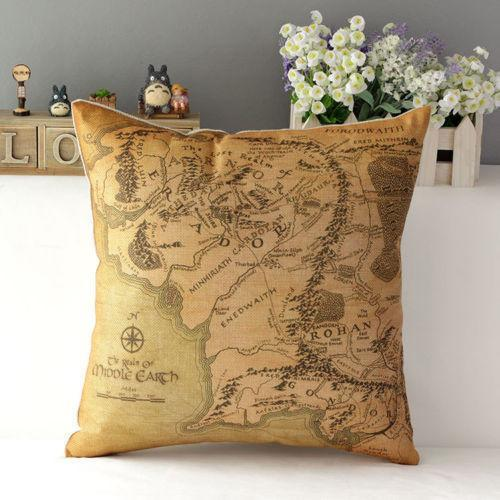 Bon ... Home Decor   The Lord Of The Rings Linen Pillow Case ...