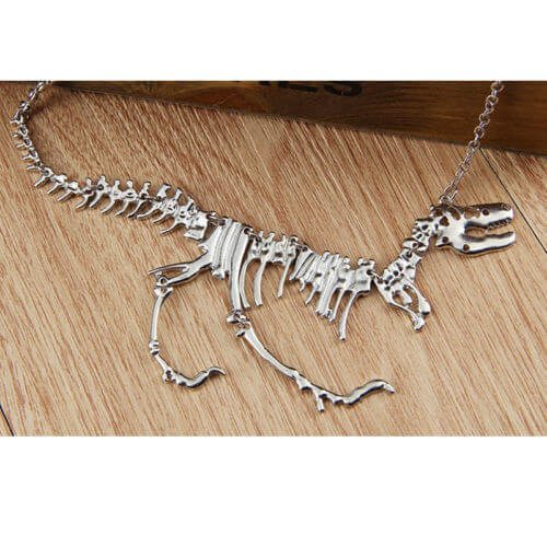 Dinosaur skeleton pendant necklace pluto99 necklaces dinosaur skeleton pendant necklace aloadofball Image collections