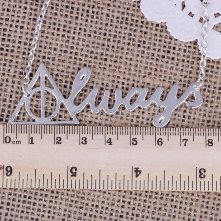 Harry Potter Always Necklace Pluto99