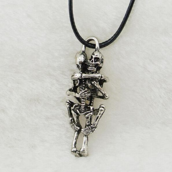 Men infinity tibet silver black stainless steel skull pendant chain necklaces men infinity tibet silver black stainless steel skull pendant chain necklace aloadofball Gallery
