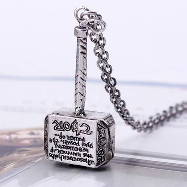 Vintage thors hammer pendant necklace pluto99 necklaces vintage thors hammer pendant necklace aloadofball Image collections