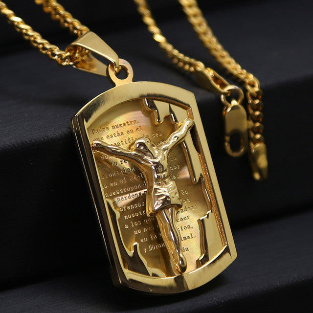 cz hip finish mens franco jesus piece necklace chain hop gold pendant out iced