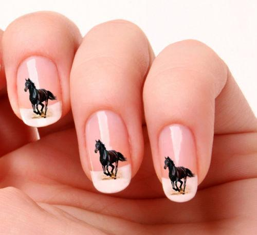 Stickers - Beautiful Horse Nail Art Decals - Beautiful Horse Nail Art Decals - Pluto99
