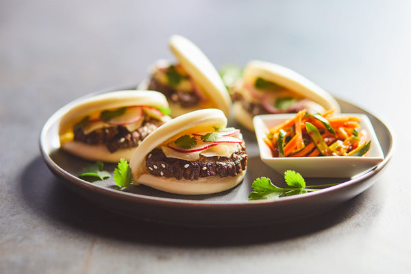 Korean Beef Steam Buns