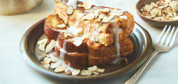 Guava & Cream Cheese Stuffed French Toast