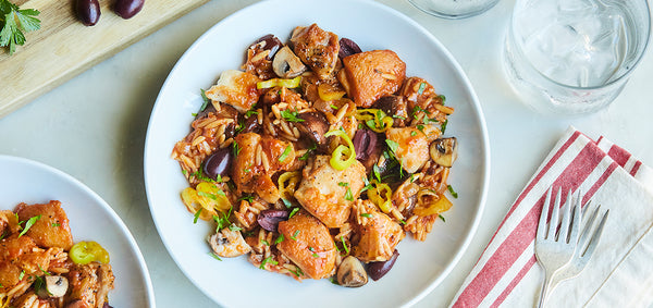Zesty Chicken Cacciatore with Peperonicinoi