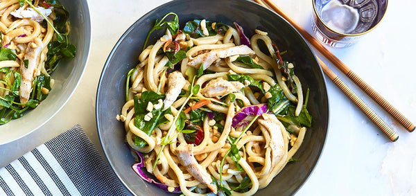 Thai Peanut Chicken Udon