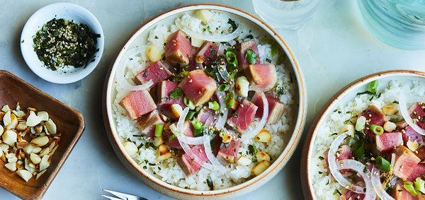 Seared Ahi-Tuna Bowl