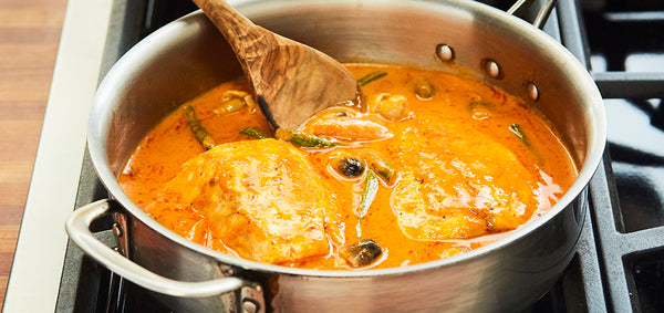 Redfish Thai Curry