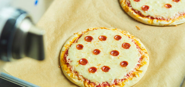 Kid's Pepperoni Pita-Pizza