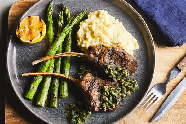 Grilled American Lamb Chops