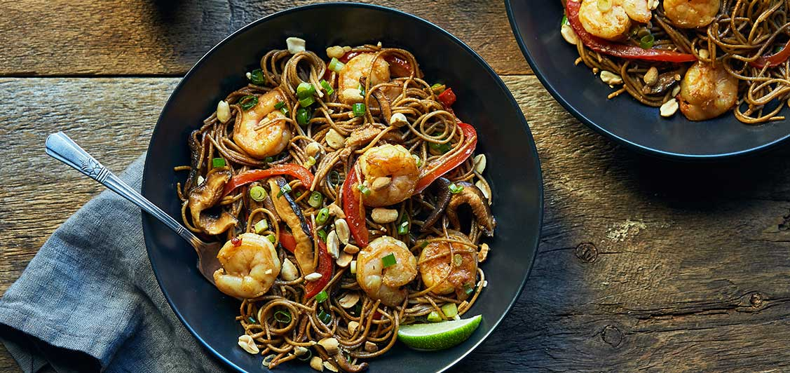 Soba Shrimp Pad Thai