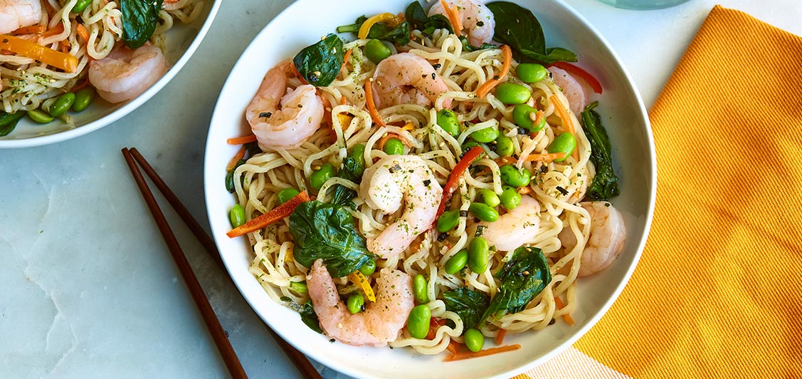 Sweet Thai Chili Shrimp Ramen
