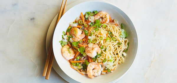 Sweet Chili Shrimp Ramen