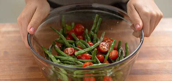 Charred Green Bean Salad