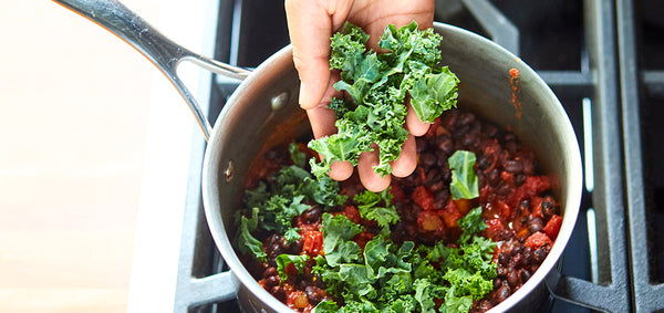 Chipotle Chili with Kale and Beans