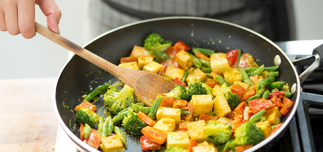 Vegetable Tofu Coconut Curry
