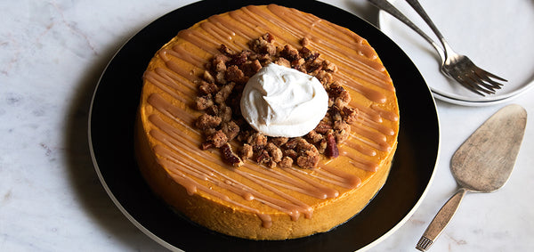 Pumpkin Caramel Cheesecake