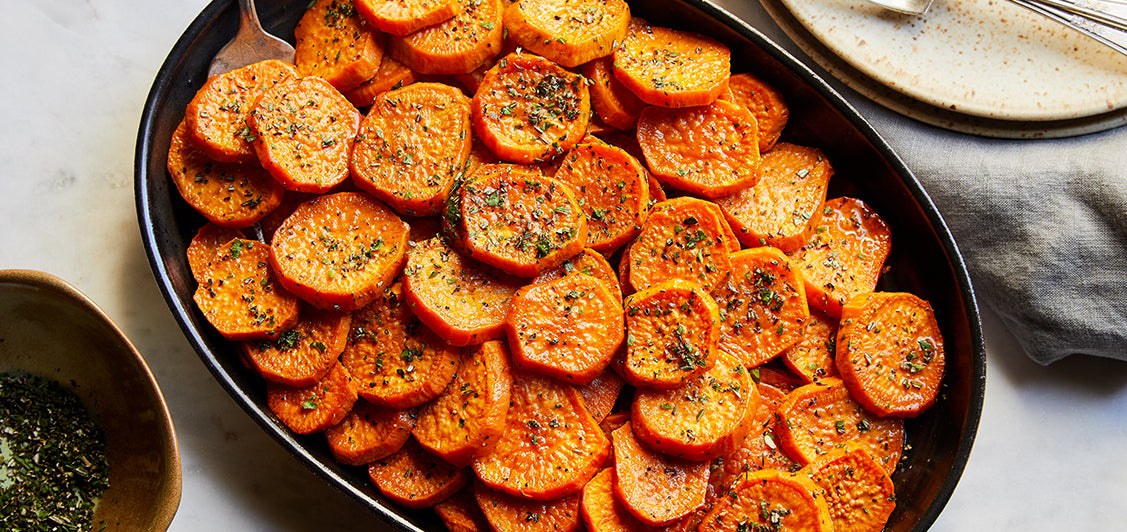 Candied Yams with Fresh Herbs