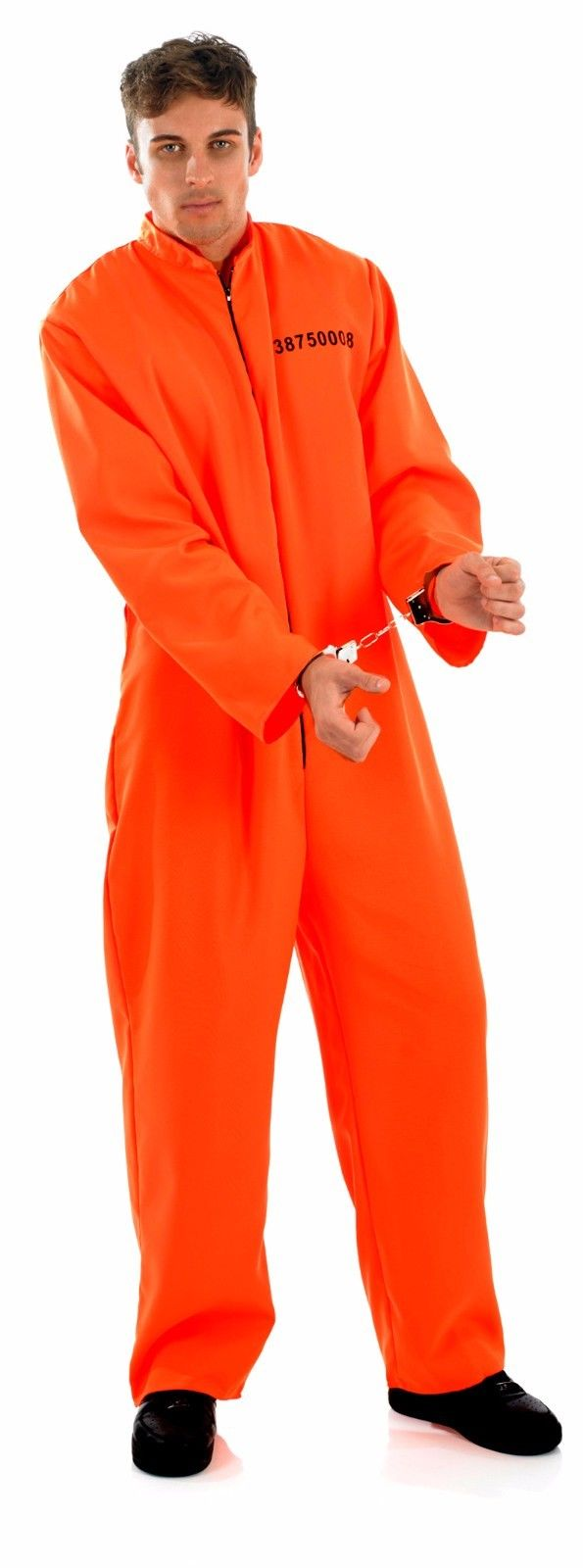 ... ADULT MENS PRISONER COSTUME ORANGE DEATH ROW FANCY DRESS HALLOWEEN OUTFIT NEW ...  sc 1 st  Costume Fantastic & ADULT MENS PRISONER COSTUME ORANGE DEATH ROW FANCY DRESS HALLOWEEN ...