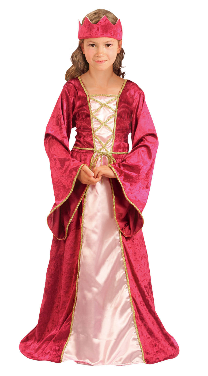 Medieval Tudor Girl Renaissance Princess Queen Costume Gown Outfit ...