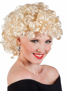 0819953db5 Ladies bubbly Blonde 50s Wig 1950s Sandy Grease Fancy Dress Costume Party  New