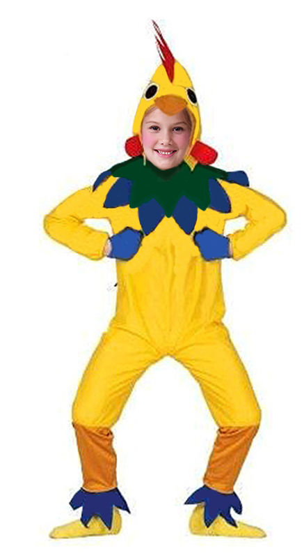 KIDS VERY SILLY CHICKEN HEN COSTUME BOYS GIRLS FANCY DRESS OUTFIT NEW AGE 7-9  sc 1 st  Costume Fantastic & KIDS VERY SILLY CHICKEN HEN COSTUME BOYS GIRLS FANCY DRESS OUTFIT ...