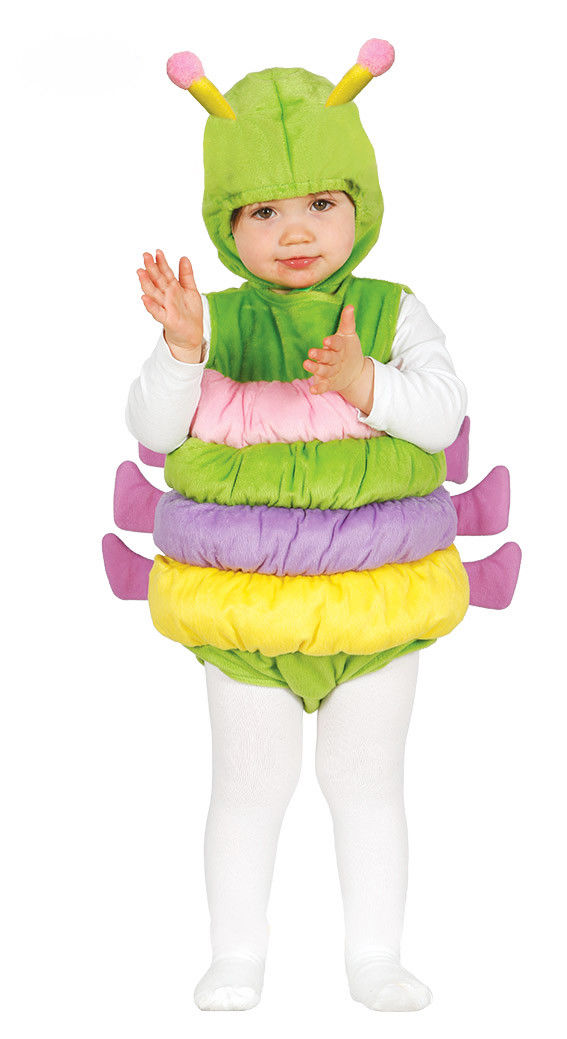 Baby Toddler Hungry Caterpillar Costume Kids Fancy Dress Age 6-12 /& 12-24 Months