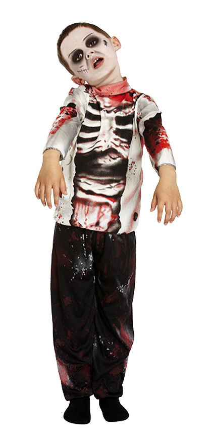 Halloween Zombie Costumes For Girls.Boys Girls Kids Zombie Costume Full Fancy Dress Halloween Outfit New Age 4 12