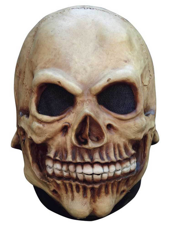 skull head mask latex rubber deluxe overhead horror scary halloween mask new