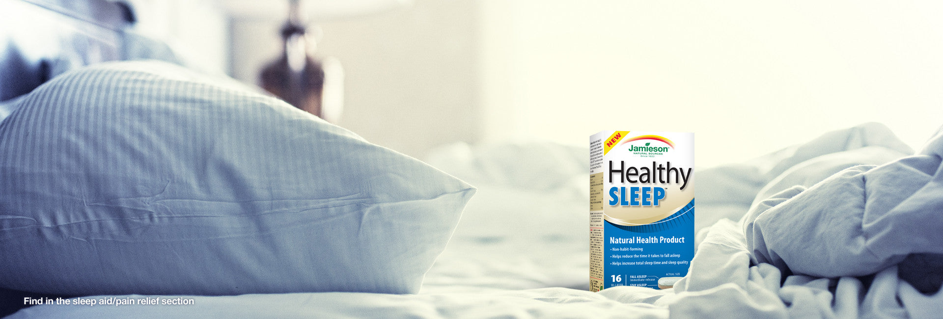 Introducing Jamieson Healthy SLEEP™