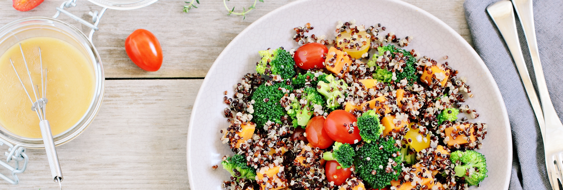 A vegetarian's guide to healthy living