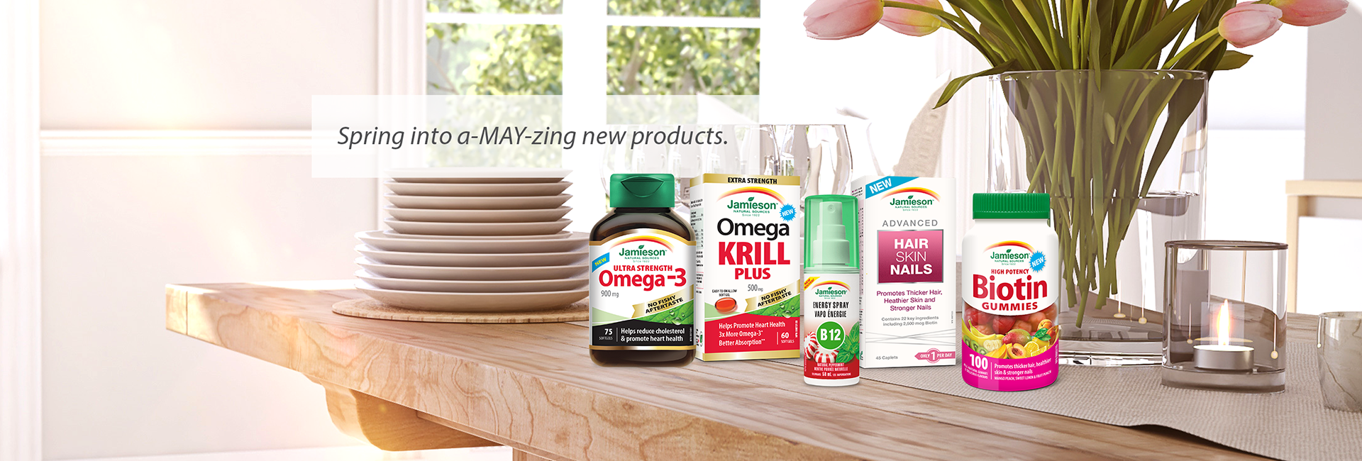 Our range of a-May-zing new products!