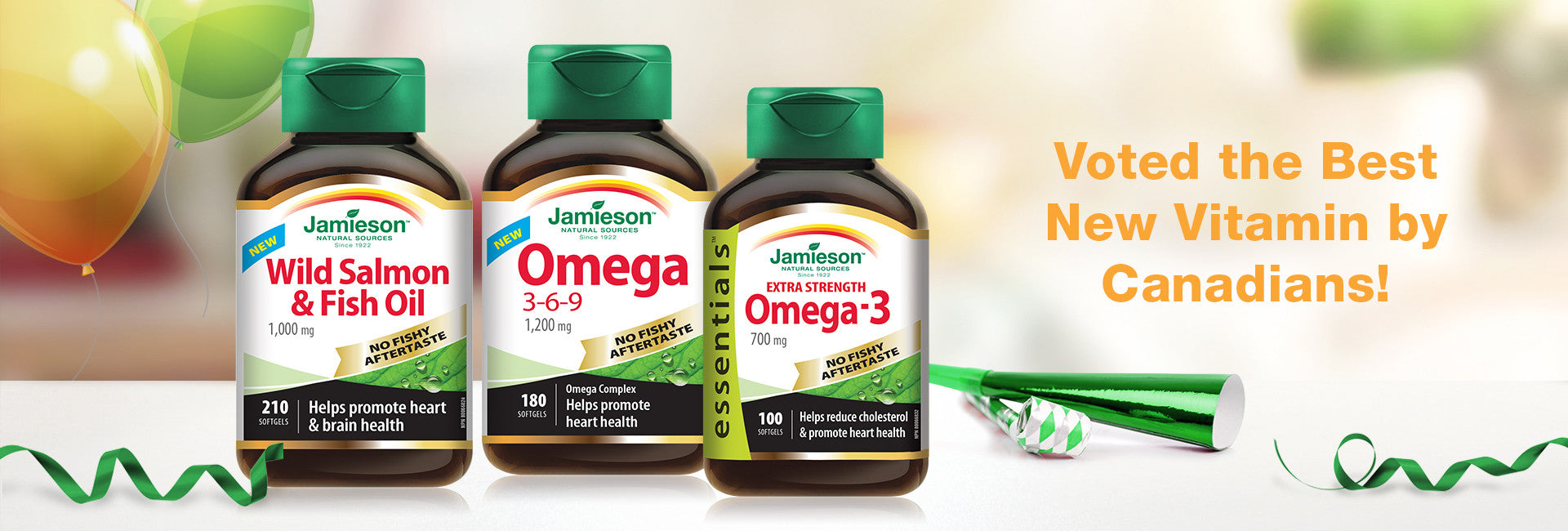 Jamieson Omega-3s take home Best New Product Award
