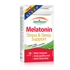 Melatonin Stress and Sleep Support
