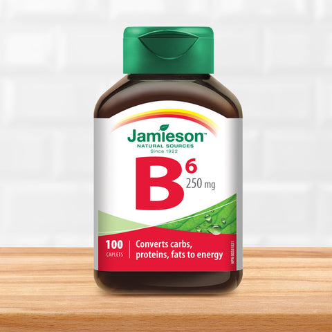 Vitamin B6 250 mg (Pyridoxine)