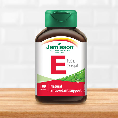 Vitamin E 100 IU/67 mg AT