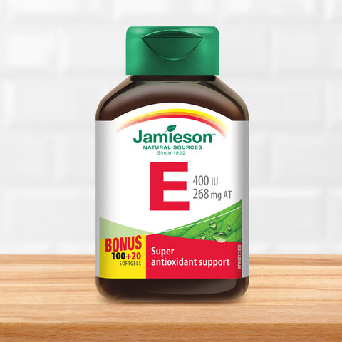 Vitamin E 400 IU/268 mg AT
